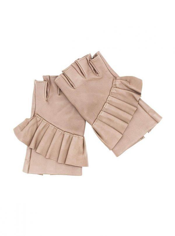 Fingerlose-Handschuhe-Leder-Giorno-arena-Spain-myarmelle-1