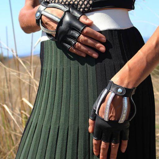 guantes-conducir-elegante-strass-Luce-negro-Armèlle-Spain-2
