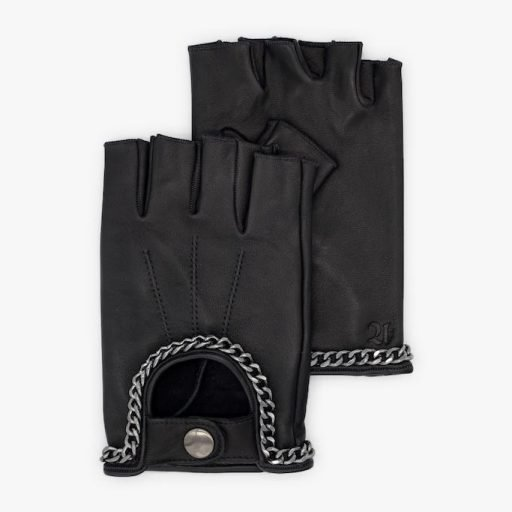 Driving-gloves-men-leather-Fausto-black-chain-Spain-Armèlle-2